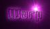 Font Bio-disc Warp Logo Preview