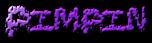 Font Black Shirt Pimpin Logo Preview