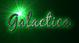 Font Blackjack Galactica Logo Preview