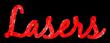 Font Blackjack Lasers Logo Preview
