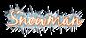 Font Blackjack Snowman Logo Preview