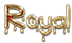 Font Blood Royal Logo Preview