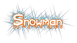 Font Blood Snowman Logo Preview