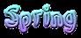 Font Bonzai Spring Logo Preview