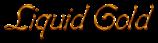 Font Boomerang Liquid Gold Logo Preview
