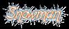 Font Boomerang Snowman Logo Preview
