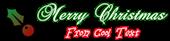 Font Brock Script Christmas Symbol Logo Preview