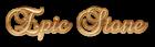 Font Brock Script Epic Stone Logo Preview