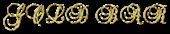 Font Brock Script Gold Bar Logo Preview