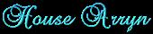 Font Brock Script House Arryn Logo Preview