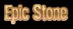 Epic Stone Logo Style