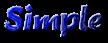Font Brush Stroke Simple Logo Preview