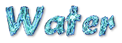 Font Brush Stroke Water Logo Preview