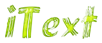 Font Brush Stroke iText Logo Preview