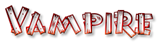 Font Burnstown Dam Vampire Logo Preview