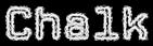 Font CPMono Chalk Logo Preview