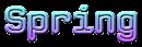 Font CPMono Spring Logo Preview