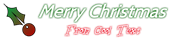 Font Cabin Christmas Symbol Logo Preview