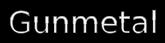 Font Cabin Gunmetal Logo Preview