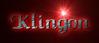 Font Caligula Klingon Logo Preview