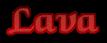 Font Caligula Lava Logo Preview