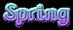 Font Caligula Spring Logo Preview