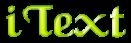 Font Caligula iText Logo Preview