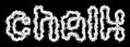 Font Candybar Chalk Logo Preview
