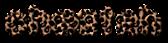 Font Candybar Cheetah Logo Preview