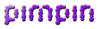 Font Candybar Pimpin Logo Preview