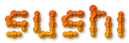 Font Candybar Sushi Logo Preview