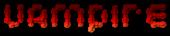 Font Candybar Vampire Logo Preview