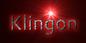 Font Cantarell Klingon Logo Preview