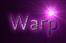 Font Cantarell Warp Logo Preview
