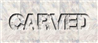 Font Capture It Carved Logo Preview