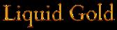Font Cardo Liquid Gold Logo Preview