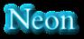 Font Cardo Neon Logo Preview