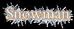 Font Cardo Snowman Logo Preview