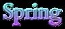Font Cardo Spring Logo Preview