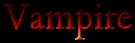 Font Cardo Vampire Logo Preview