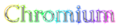 Font Caudex Chromium Logo Preview