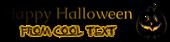 Font Caudex Halloween Symbol Logo Preview
