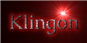 Font Caudex Klingon Logo Preview