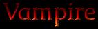 Font Caudex Vampire Logo Preview