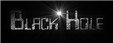 Font Checkbook Black Hole Logo Preview