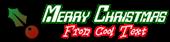 Font Checkbook Christmas Symbol Logo Preview