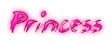Font ChickenScratch Princess Logo Preview