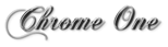 Font Chopin Script Chrome One Logo Preview