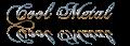 Font Chopin Script Cool Metal Logo Preview