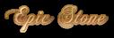 Font Chopin Script Epic Stone Logo Preview